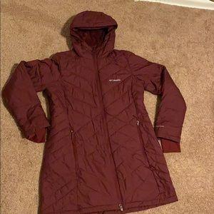 Women's large Columbia Omni heat coat